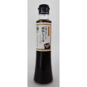 九州のおいしい減塩しょうゆ(くまモン版)